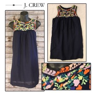 3/30<>Embroidered Tunic Dress by J. Crew